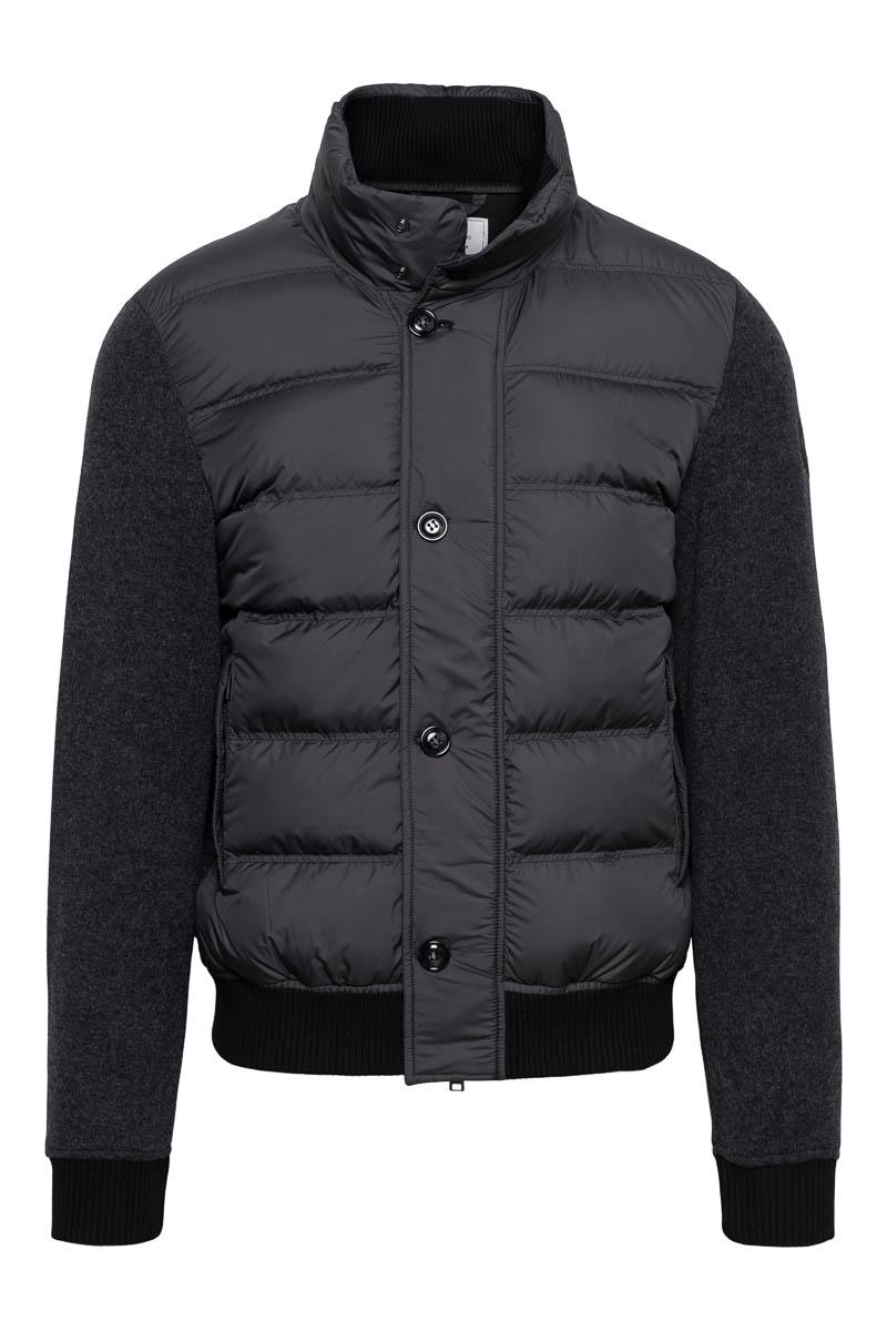 Woolrich Bonded Full Zip Dons Gevoerd zwart Foto 1
