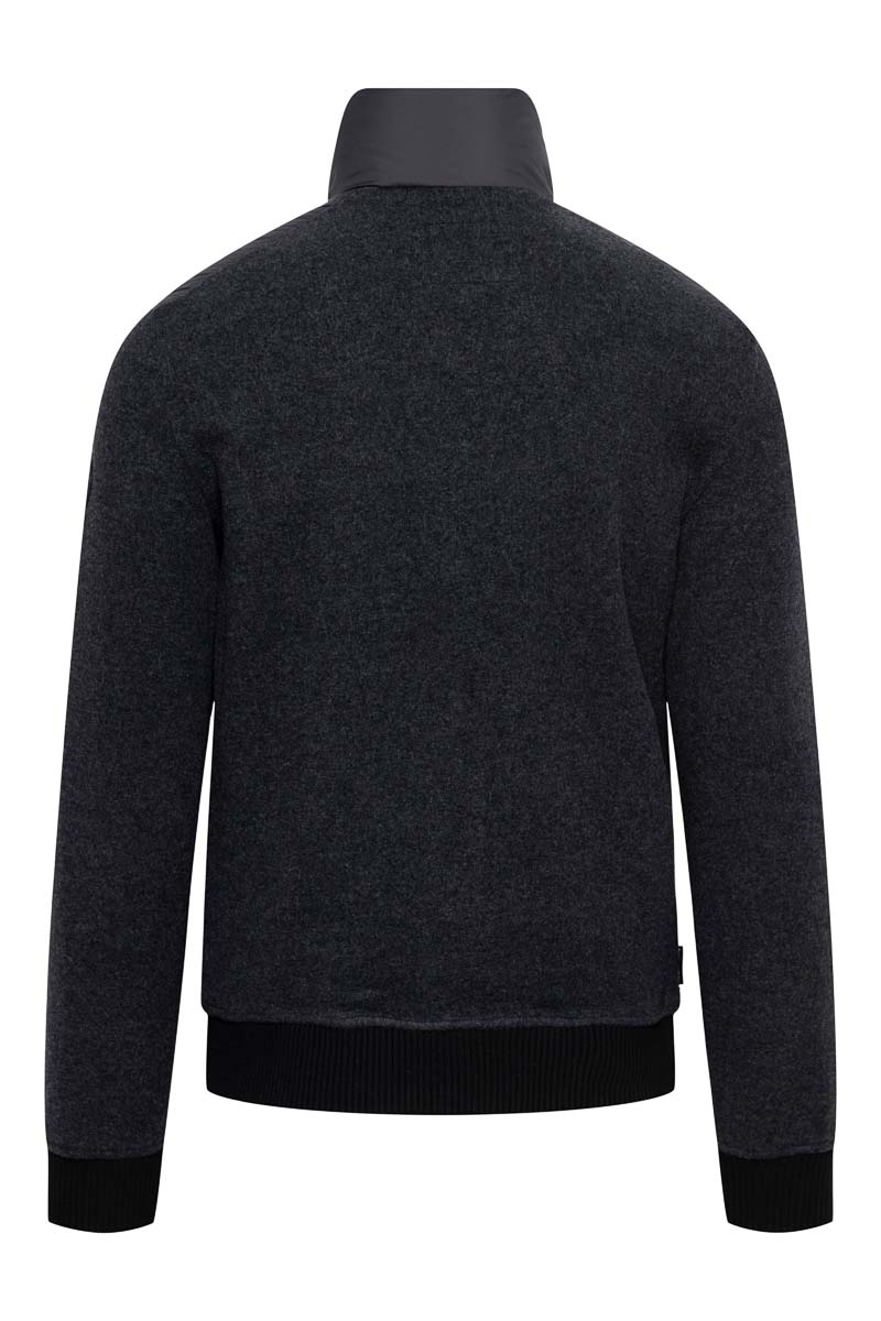 Woolrich Bonded Full Zip Dons Gevoerd zwart Foto 2