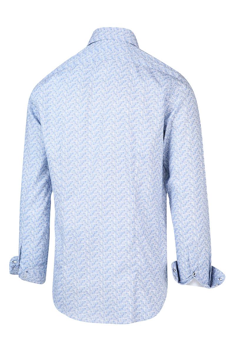 Blue Industry Overhemd Katoen Perfect Fit Foto 2