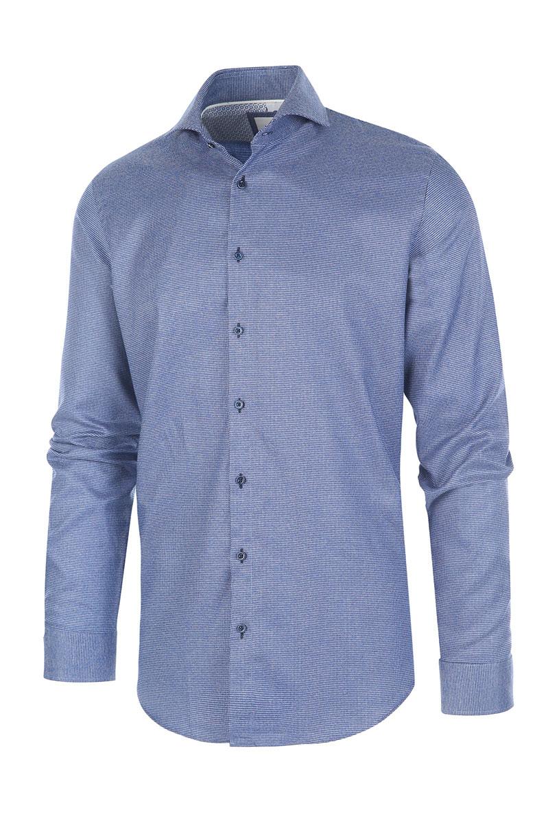 Blue Industry Overhemd Print Foto 1