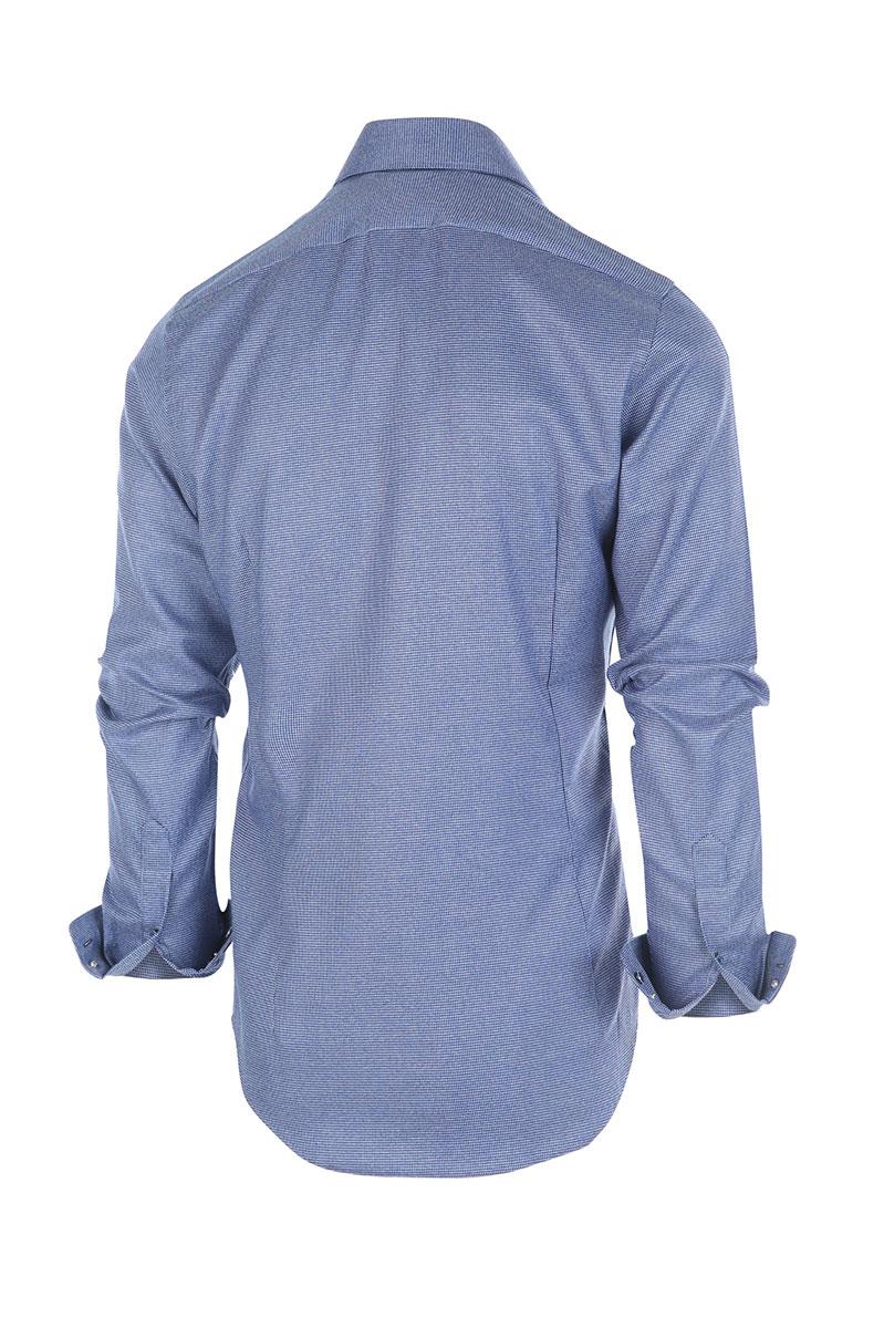 Blue Industry Overhemd Print Foto 2