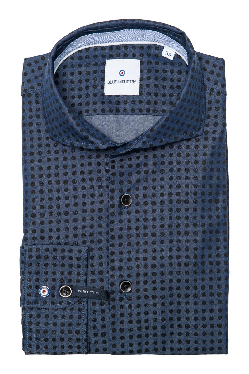 Blue Industry Shirt Foto 1