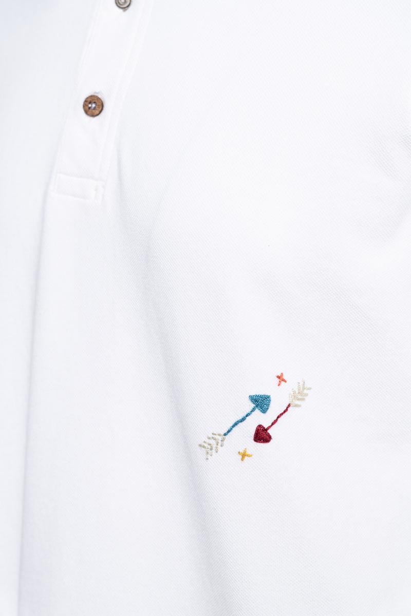 BOB Polo Garment Dyed Slim Fit Foto 3
