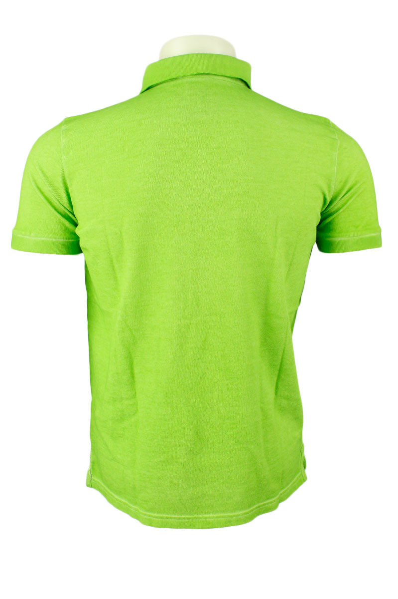 BoB Polo Katoen Slim Fit Fantasy Garment Dyed Foto 2