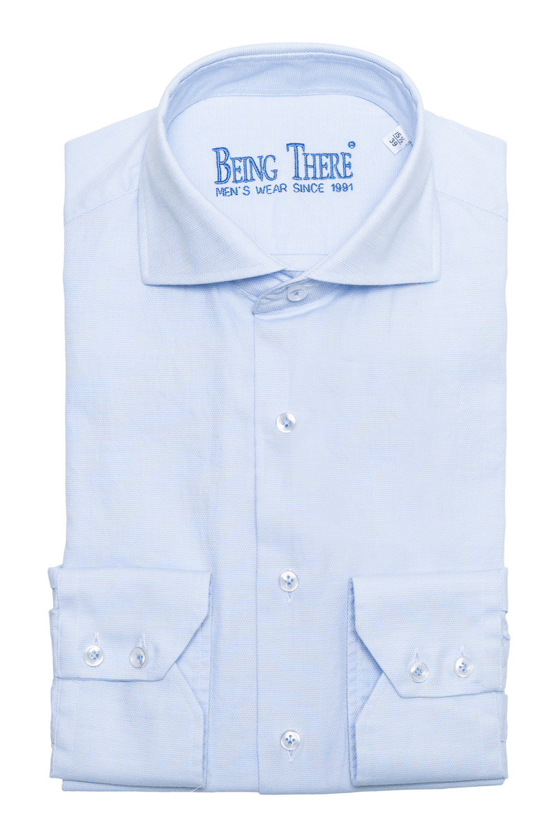BT Overhemden 100% Katoen Dobby Gewassen Mouwlengt Foto 1
