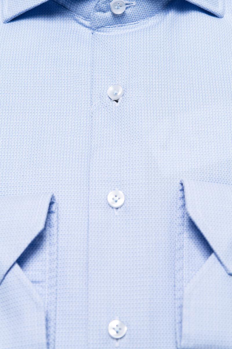 BT Overhemden 100% Katoen Dobby Gewassen Mouwlengt Foto 2