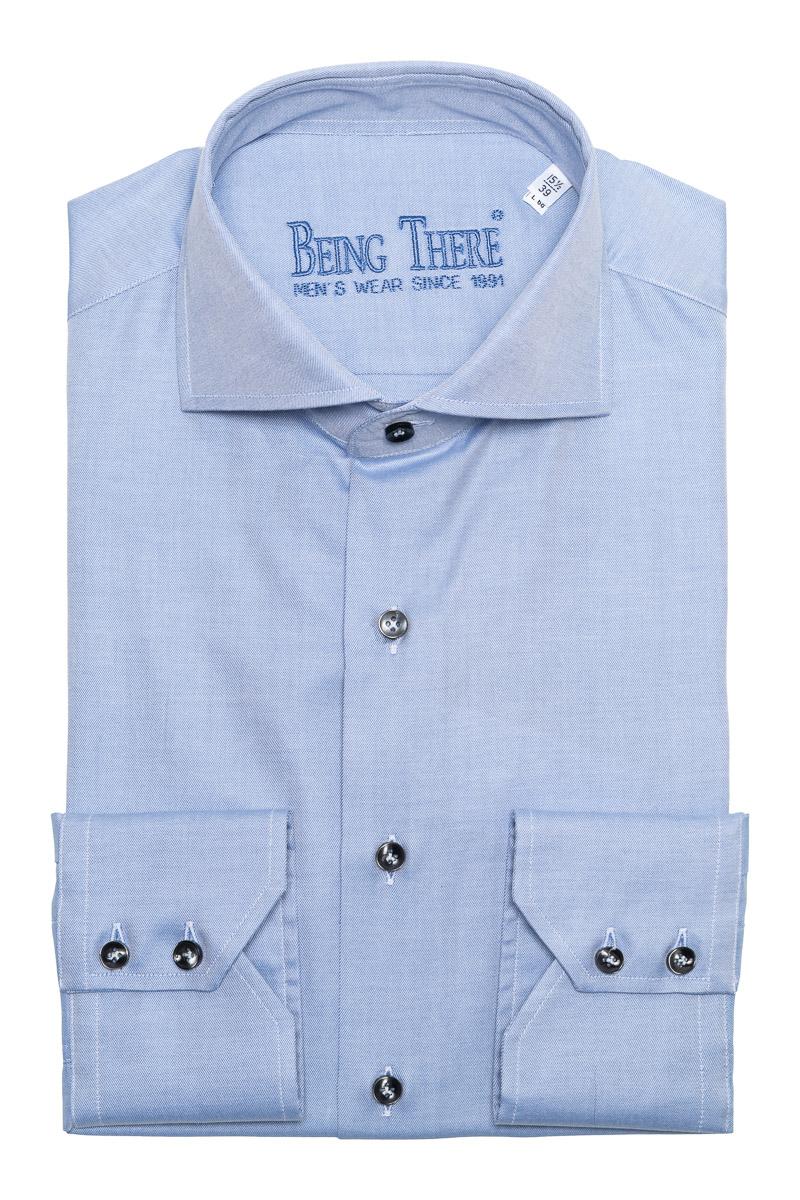 BT Overhemden Doppio Ritorto 100/2 Mouwlengte 68 c Foto 1