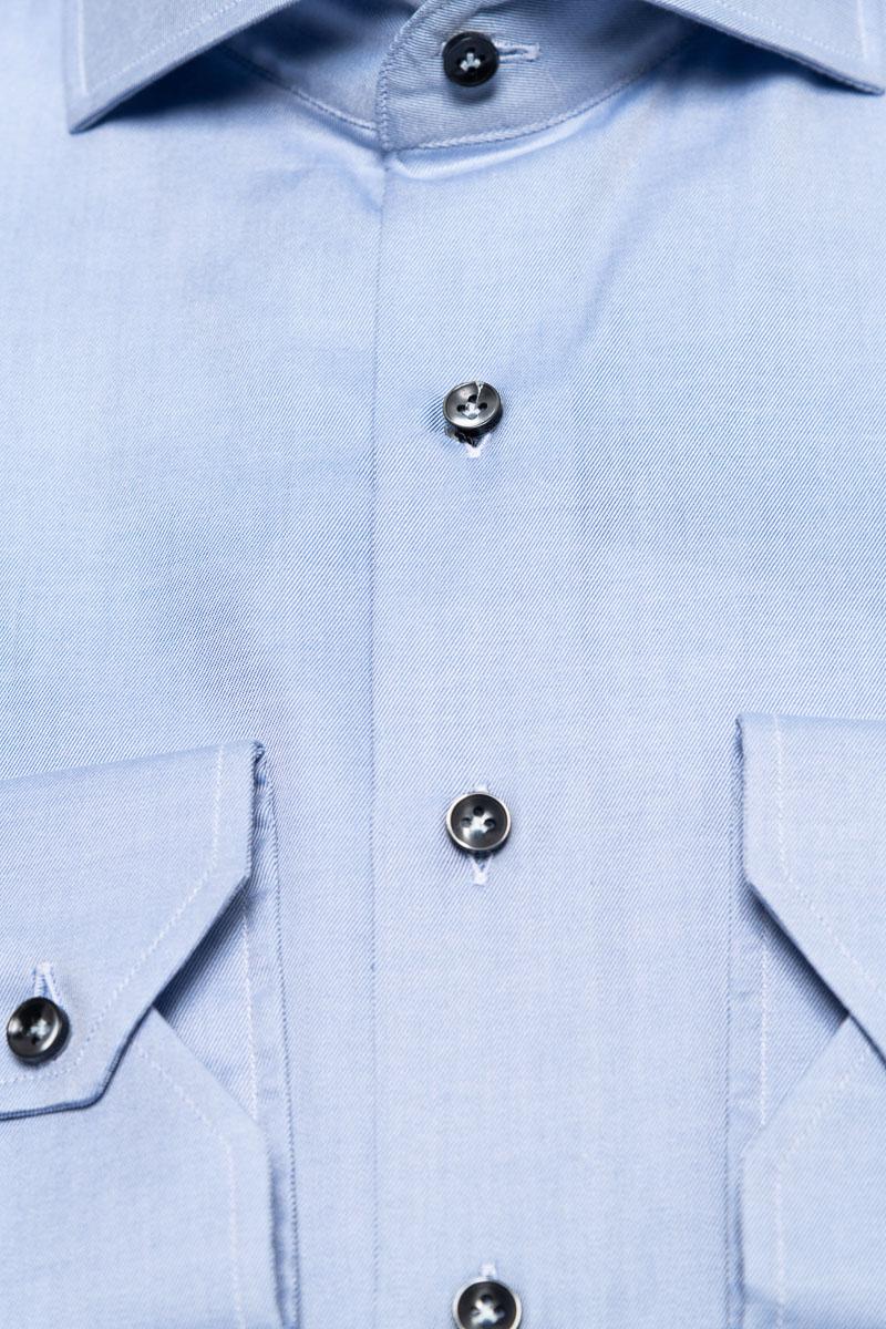 BT Overhemden Doppio Ritorto 100/2 Mouwlengte 68 c Foto 2