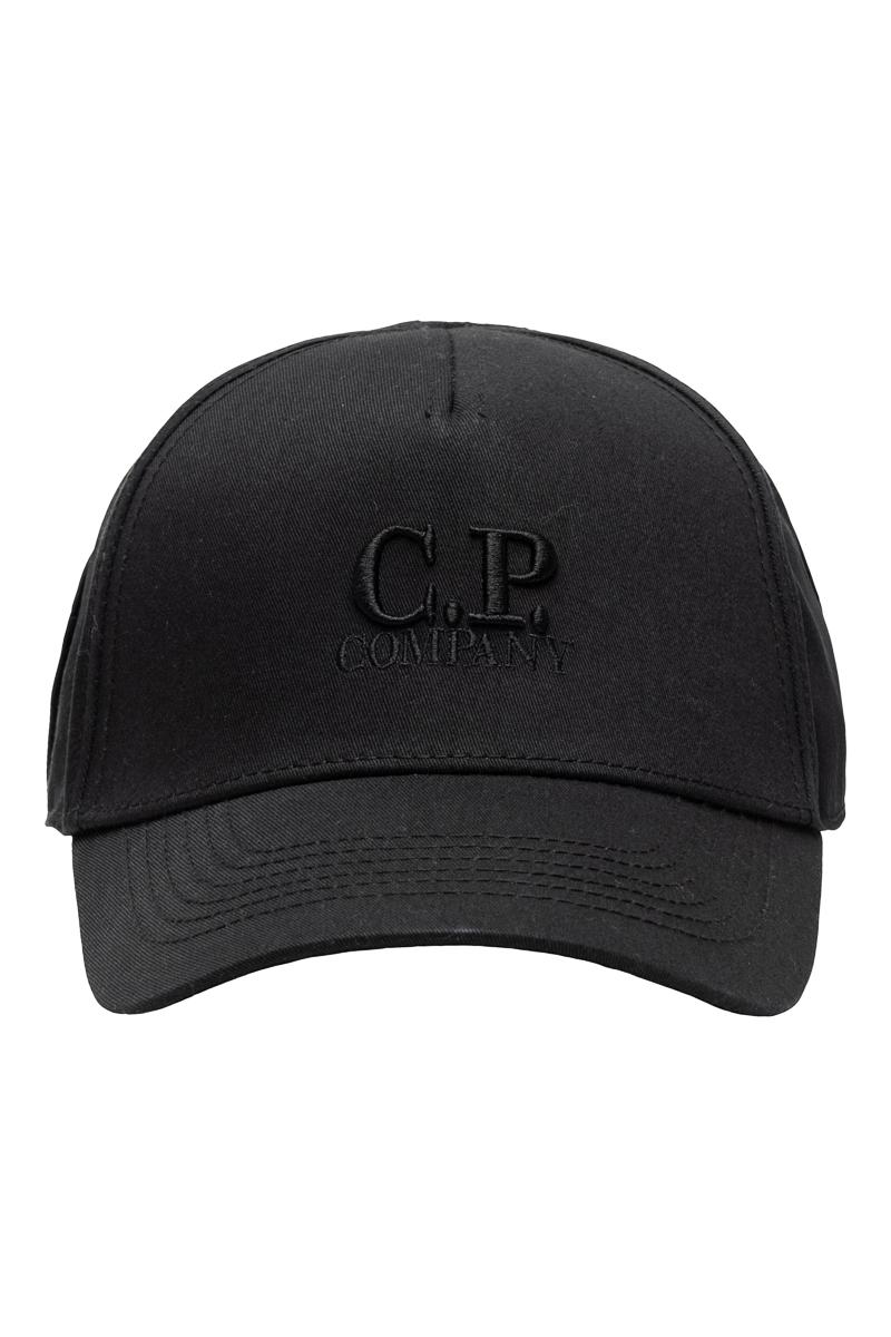 C.P. Company Cap Goggle Logo 100% Katoen Foto 1