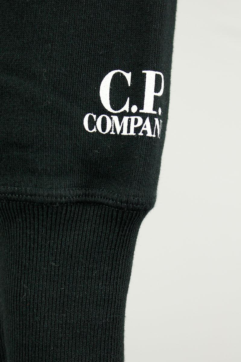CP Company Diagonal Fleece Crewneck Katoen Print Foto 5