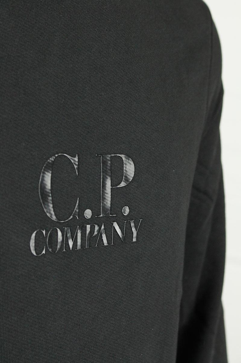 CP Company Fleece Crew Neck met Lens Foto 3