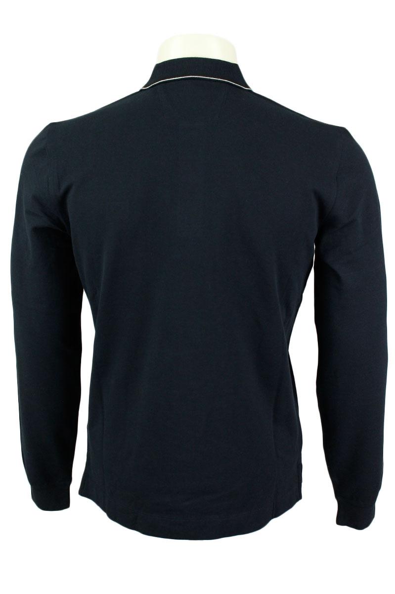 CP Company Polo Mouw Pique Katoen Stretch Slim Fit Foto 2