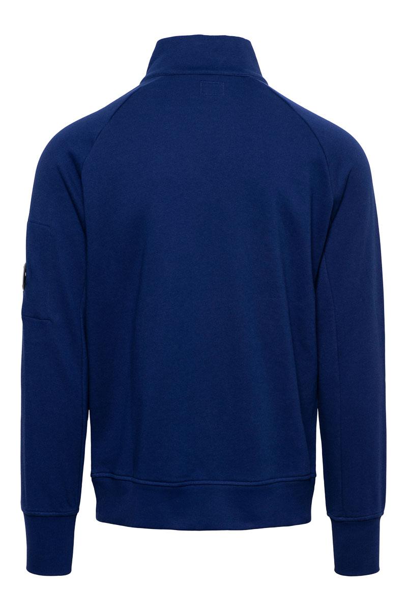 CP Company Polo Sweater Cotton Fleece Zip 11CMSS059A Foto 2