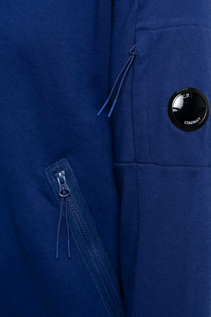 CP Company Polo Sweater Cotton Fleece Zip 11CMSS059A Foto 3