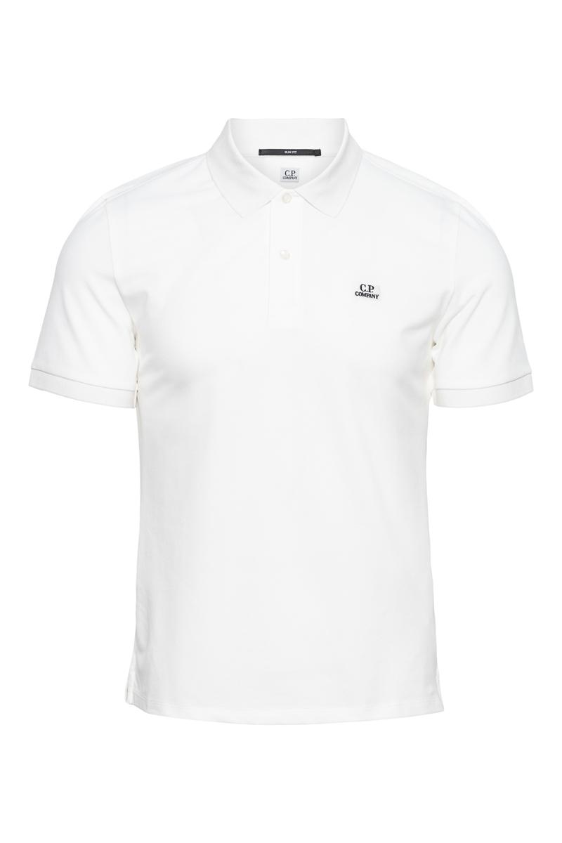 C.P. Company Poloshirt Korte Mouw 100% Katoen Foto 1