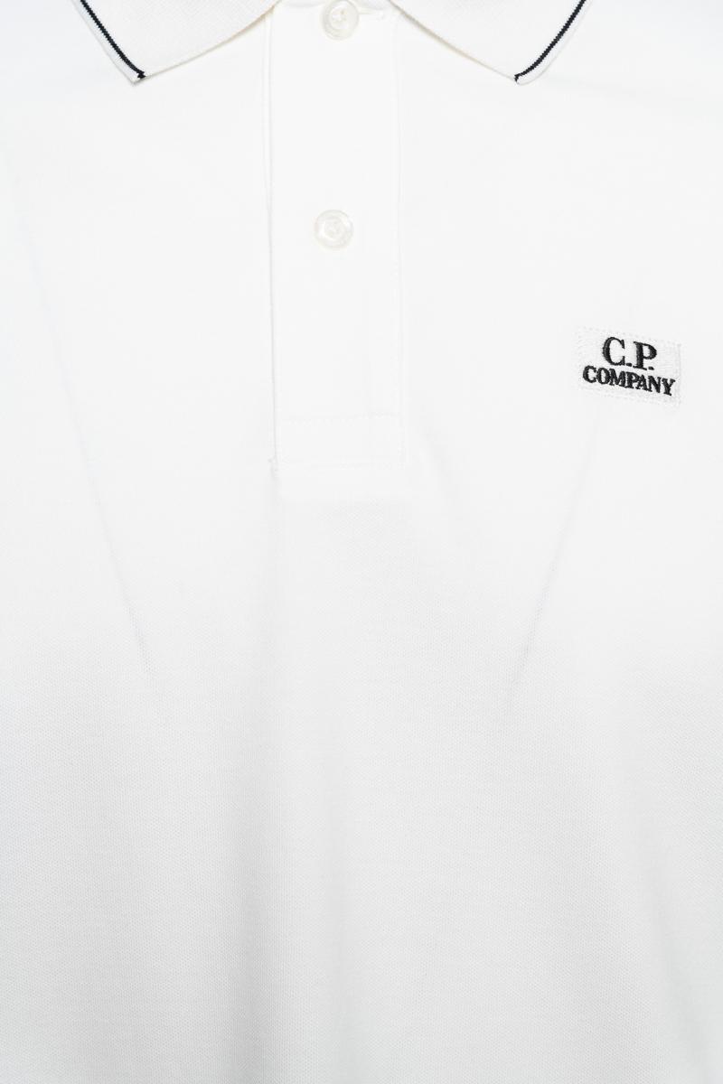 C.P. Company Poloshirt Lange Mouw 100% Katoen Foto 3