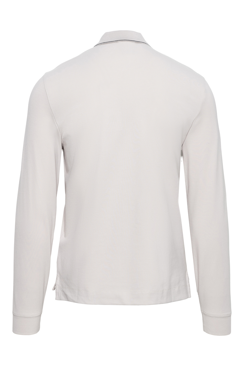 C.P. Company Poloshirt Lange Mouw 100% Katoen Foto 2