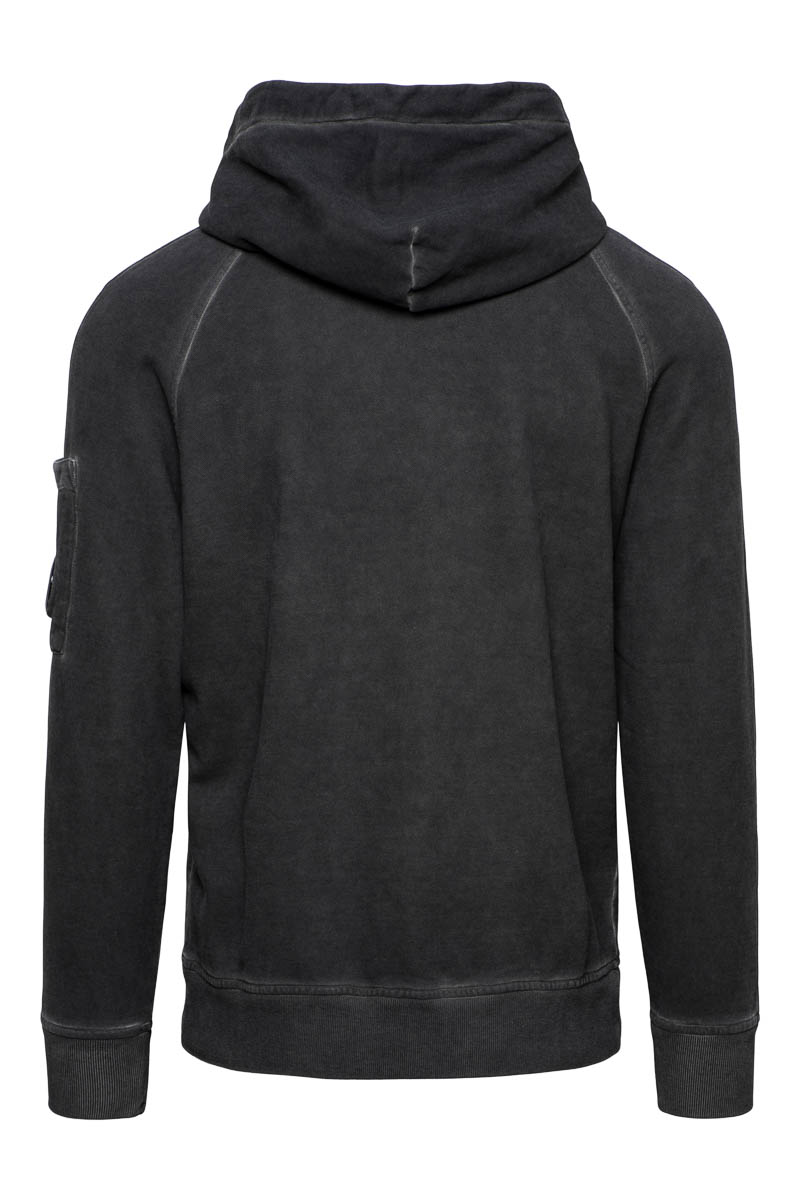 CP Company Sweater Hoody Cotton Fleece Piece Dyed Foto 2