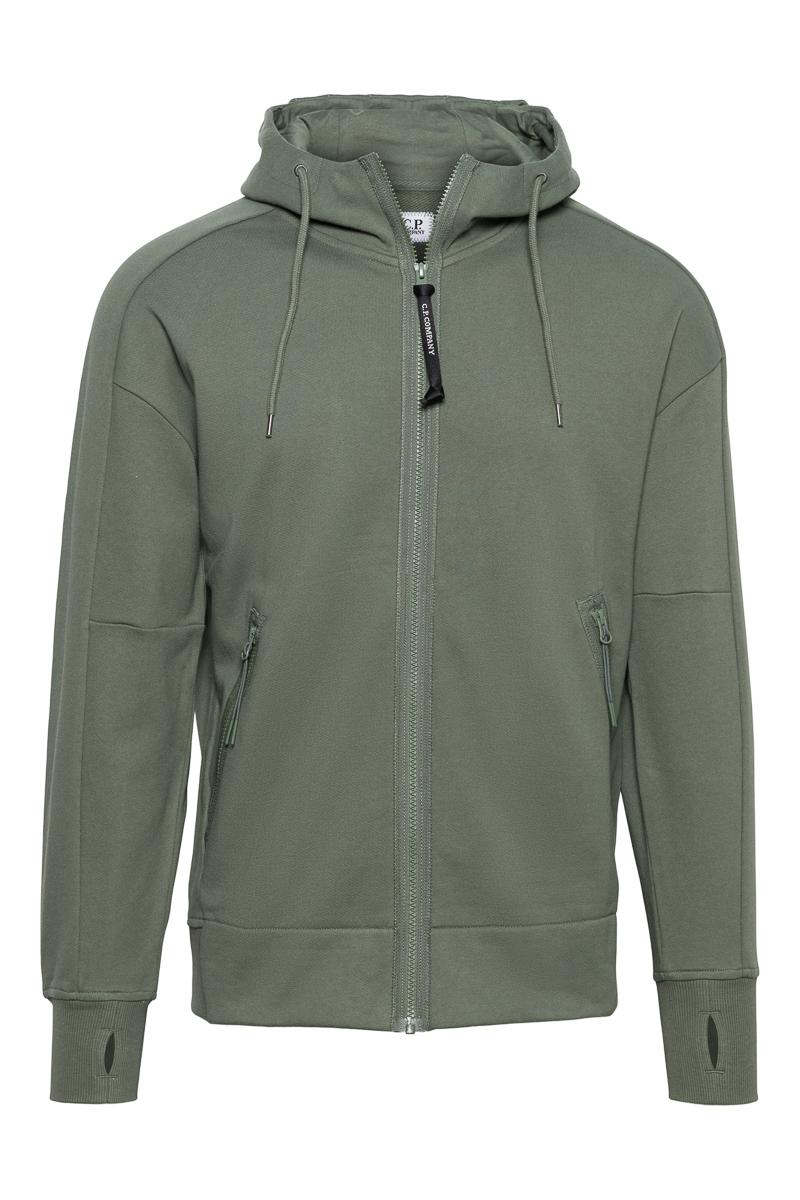 C.P. Company Sweater Zip Hood Goggle 100% Katoen Foto 1