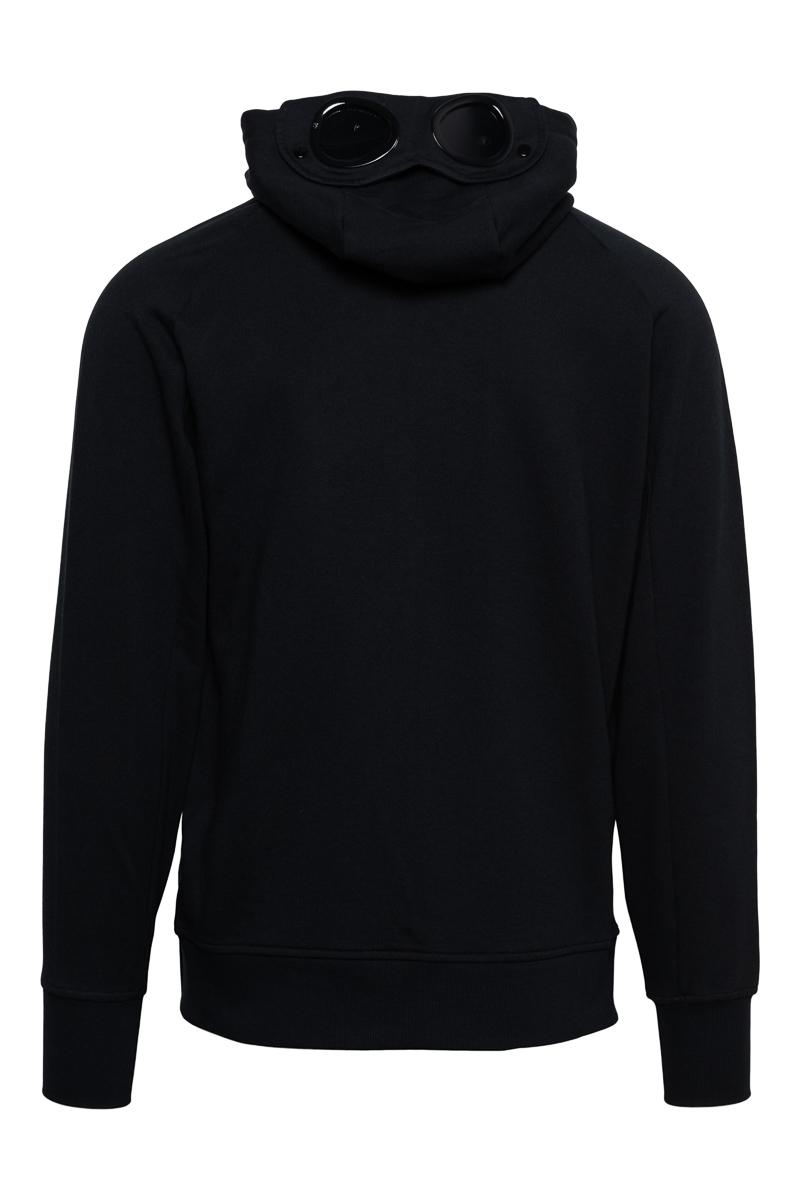 C.P. Company Sweater Zip Hood Goggle 100% Katoen Foto 2