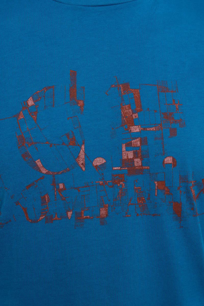 C.P. Company T-Shirt 100% Katoen Print Foto 3