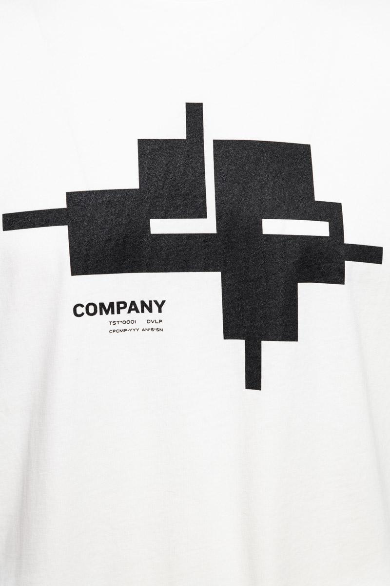 CP Company T-Shirt Jersey Katoen Print Foto 3