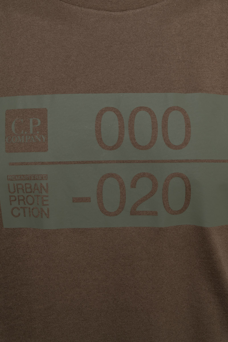 CP Company T-Shirt Jersey Katoen Foto 3
