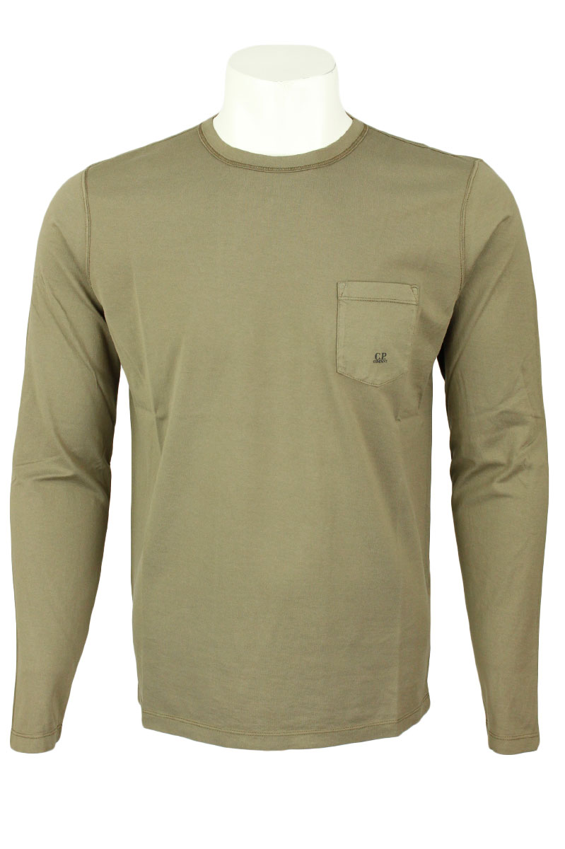 CP Company T-Shirt Long Sleeve MAKO Cotton Foto 1