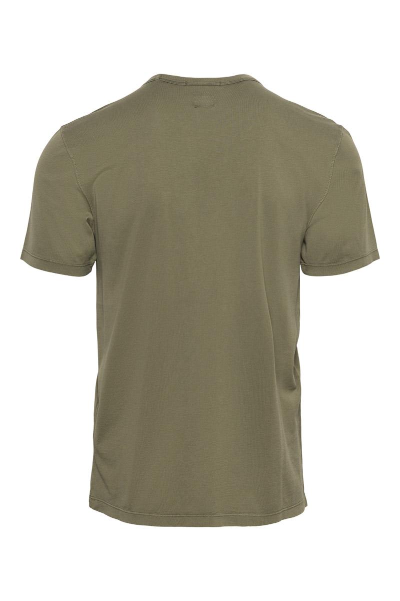 CP Company T-Shirt Mako Jersey Katoen Foto 2