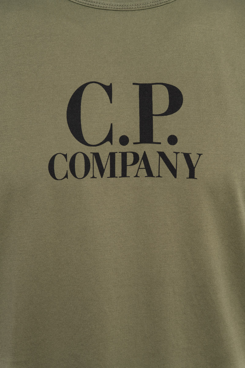 CP Company T-Shirt Mako Jersey Katoen Foto 3