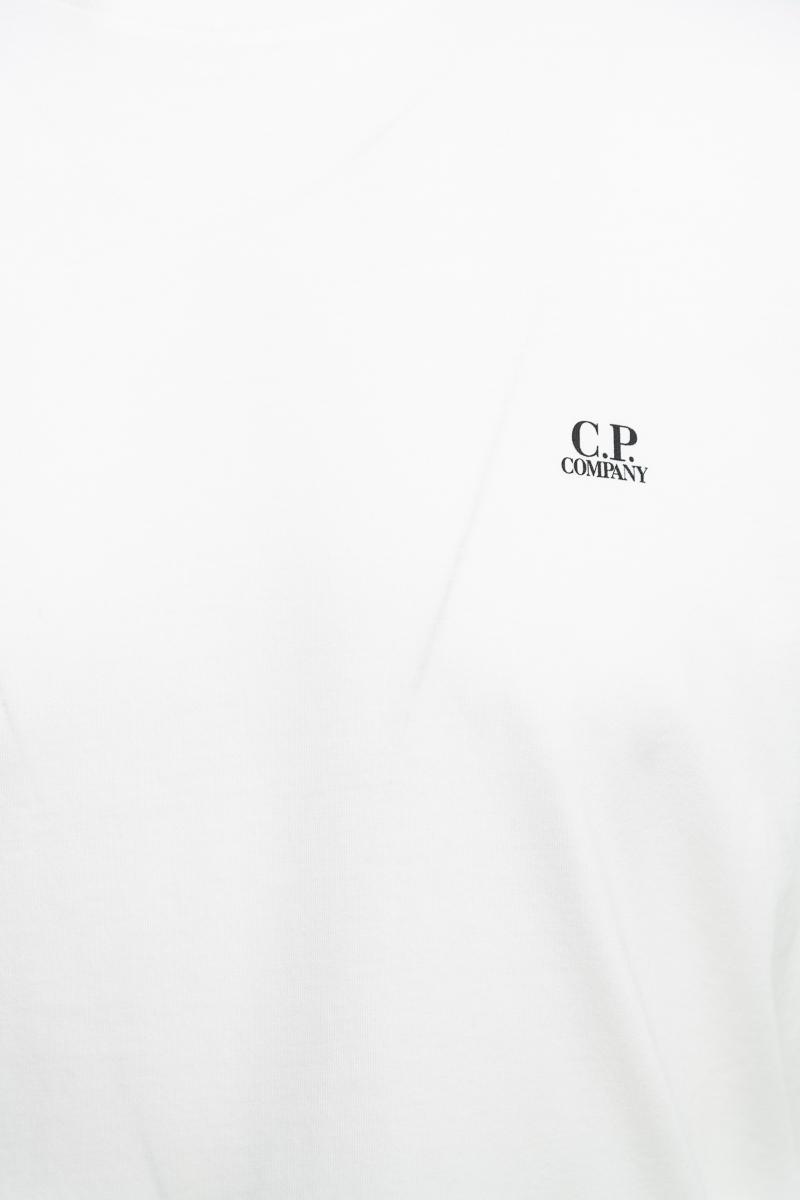 C.P. Company T-Shirt Mille Miglia 100% Katoen Prin Foto 3