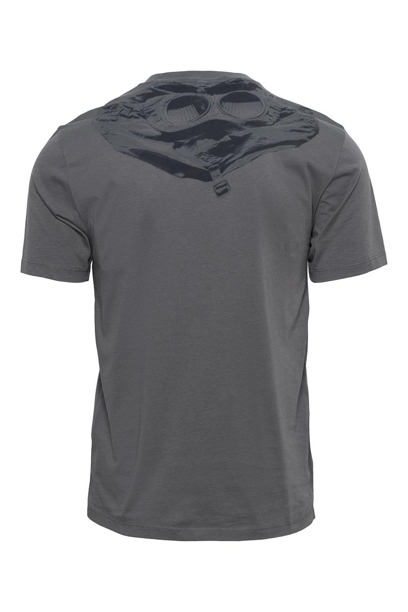 C.P. Company T-Shirt Mille Miglia 100% Katoen Prin Foto 2