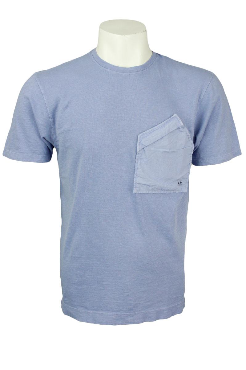 CP Company T-Shirt Pocket Dutch Blue Foto 1
