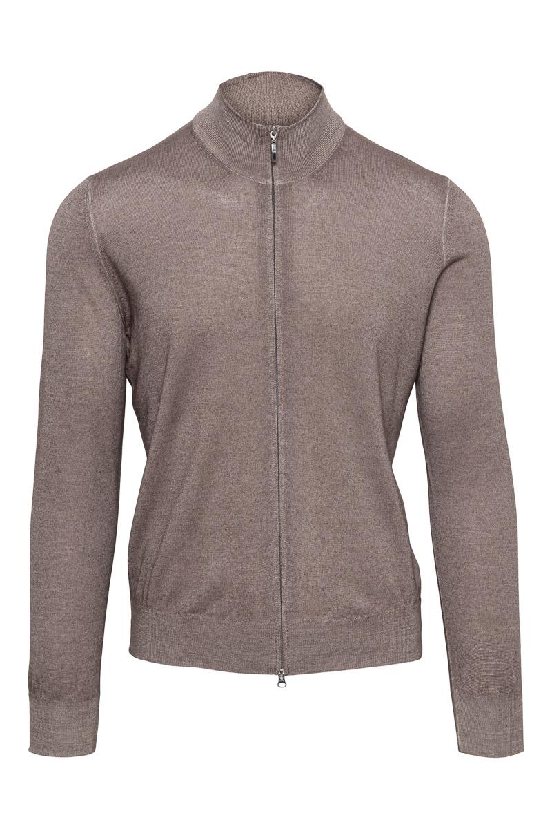Gran Sasso 100% Merino Vest Garment Dyed Foto 1