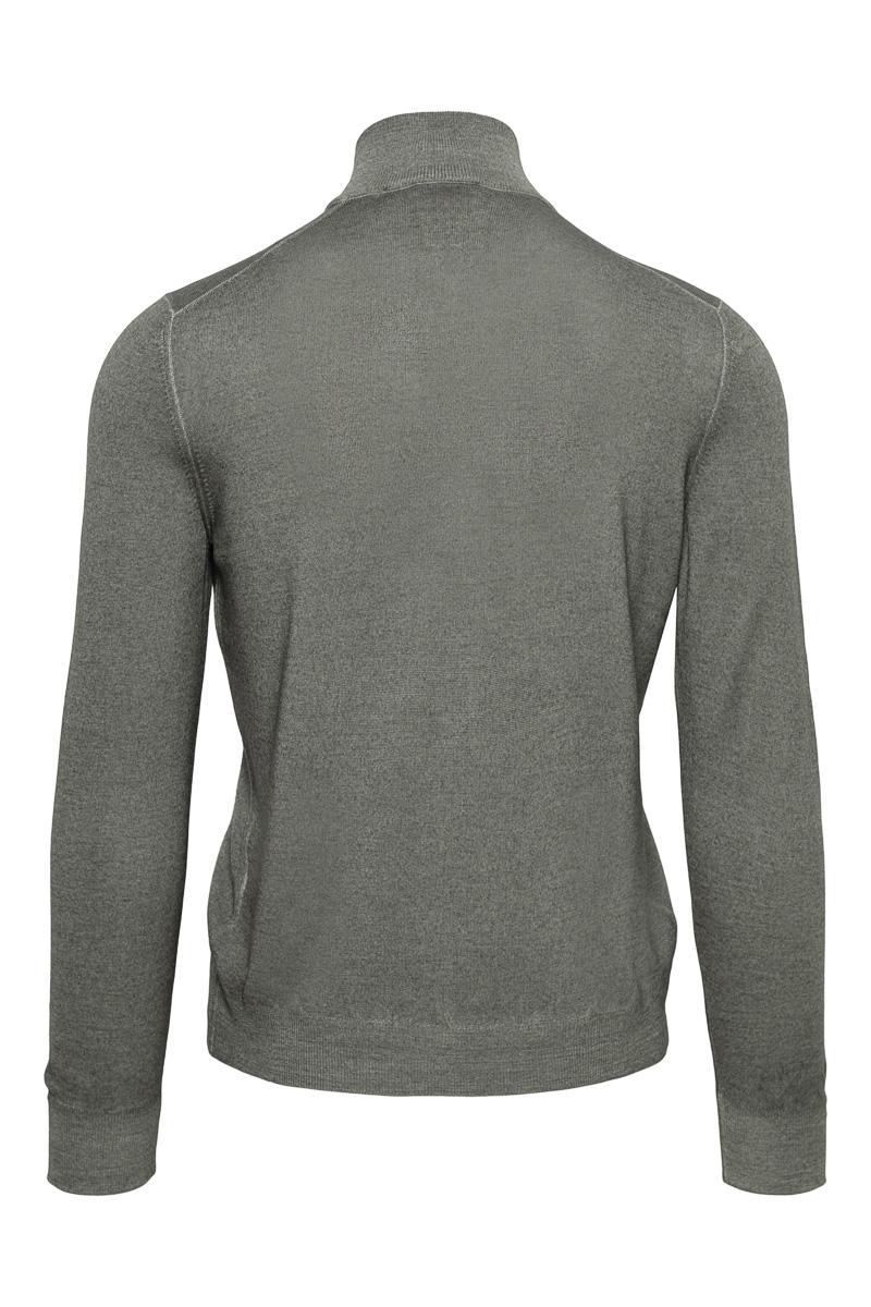 Gran Sasso 100% Merino Vest Garment Dyed Foto 2