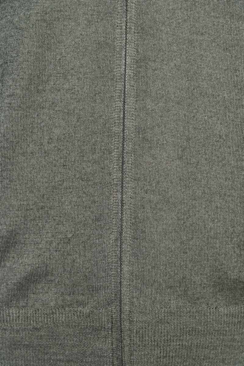 Gran Sasso 100% Merino Vest Garment Dyed Foto 3