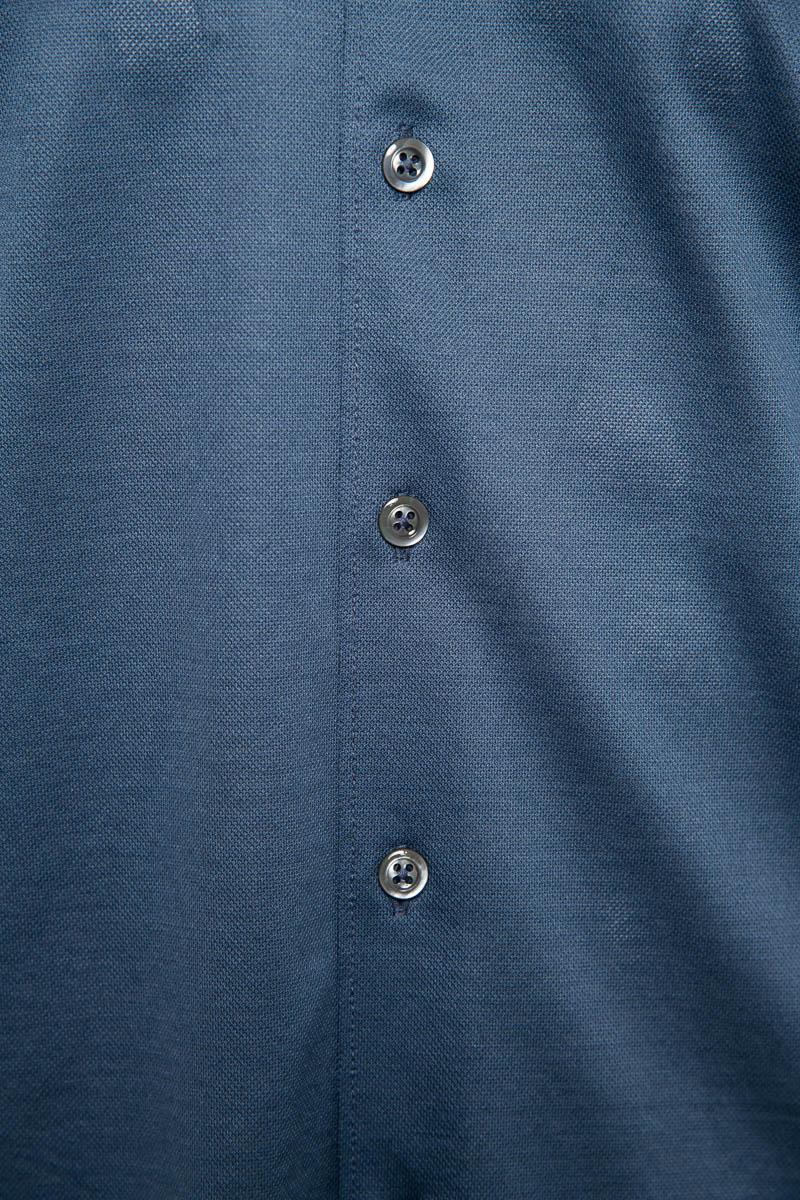 Gran Sasso Overhemd Jersey Gemercericeerd Katoen Foto 3