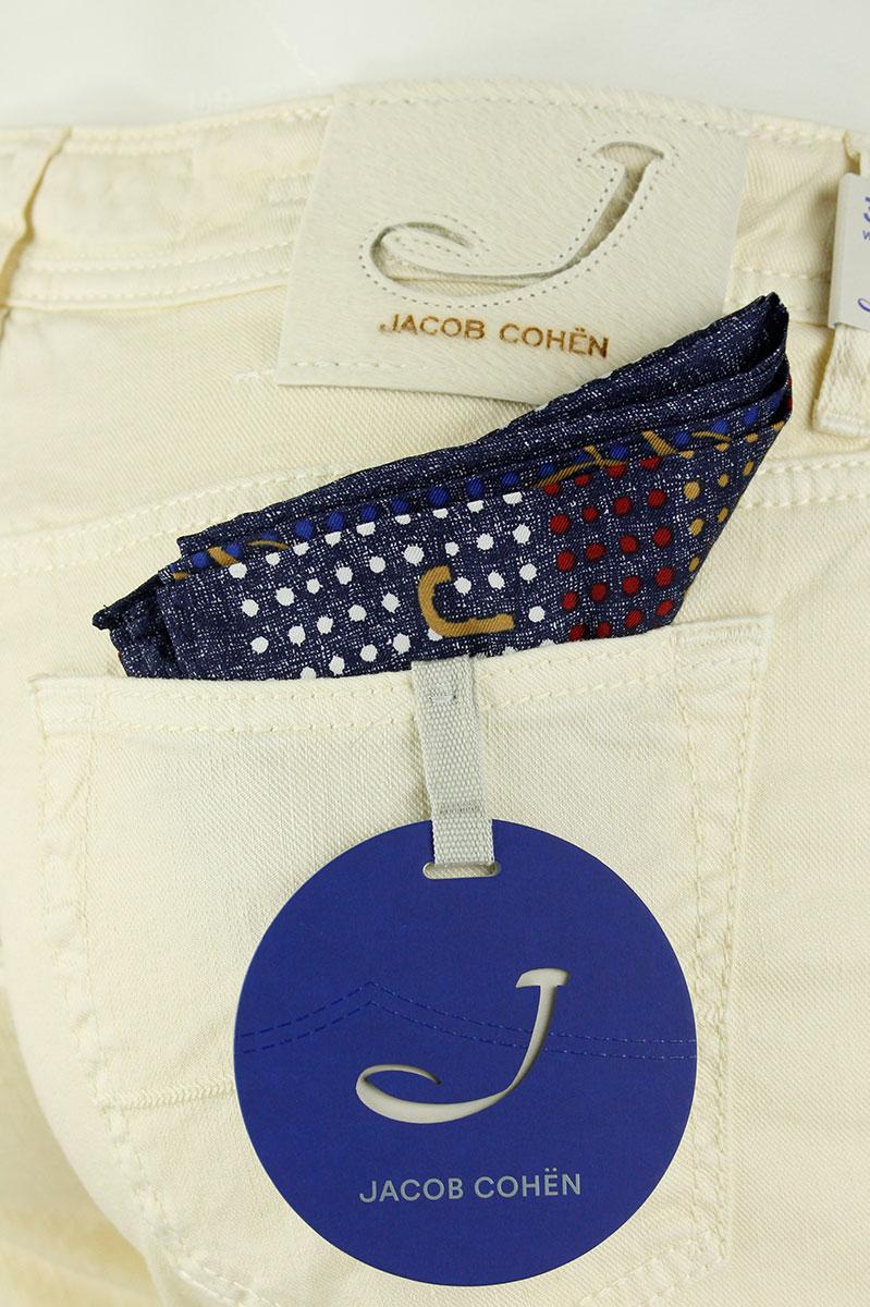 Jacob Cohen Jeans Light linnen katoen  Comf 1,5 cm Foto 5