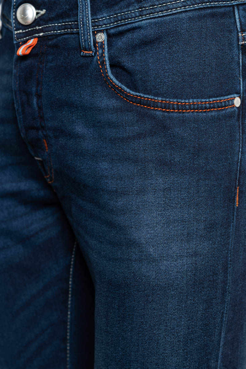 Jacob Cohen Jeans Model J622 Katoen Stretch Soft T Foto 3