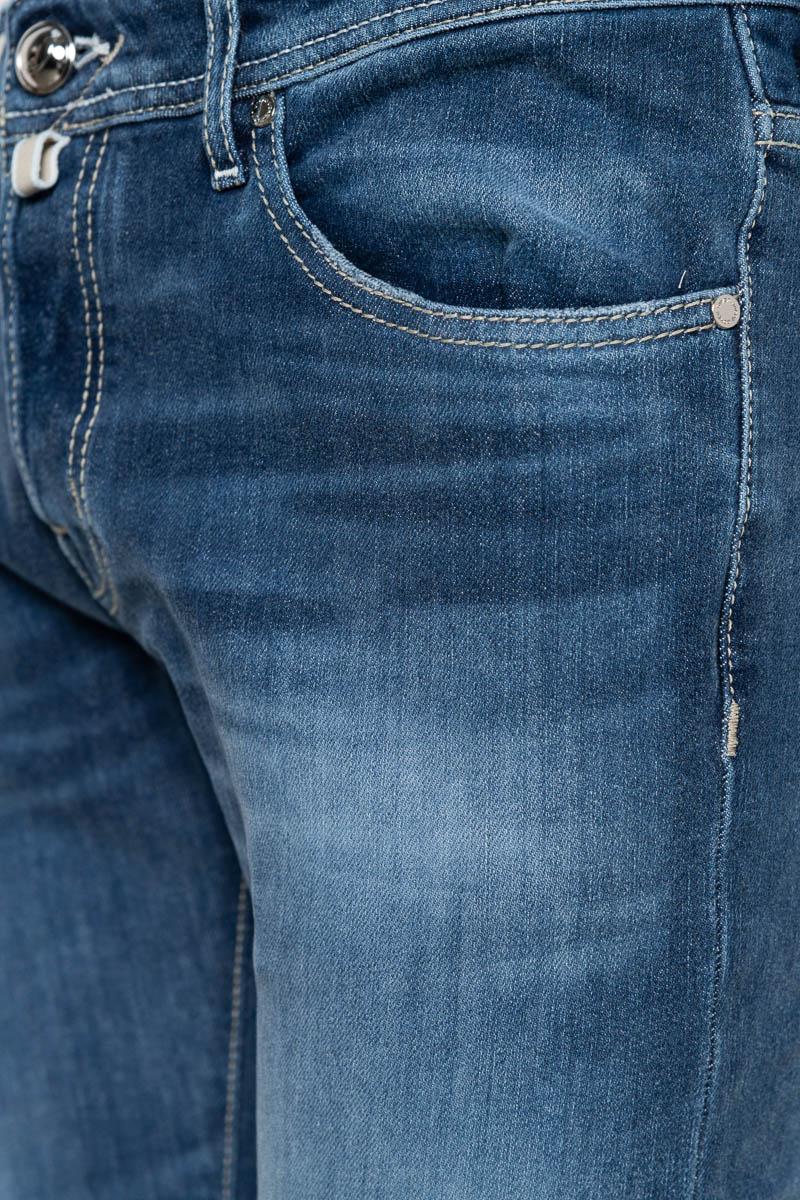 Jacob Cohen Jeans Model J622 Slim Katoen Stretch   Foto 3