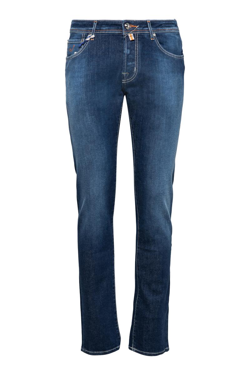 Jacob Cohen Jeans Model J622 Slim Katoen Stretch   Foto 1