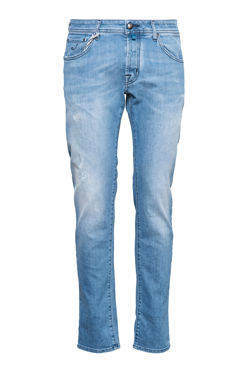Jacob Cohen Jeans Model J622 Slim Katoen Stretch D Foto 1