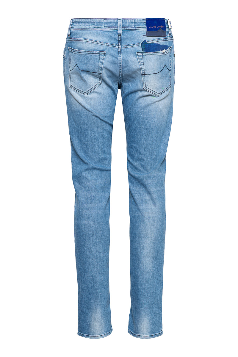 Jacob Cohen Jeans Model J622 Slim Katoen Stretch D Foto 2