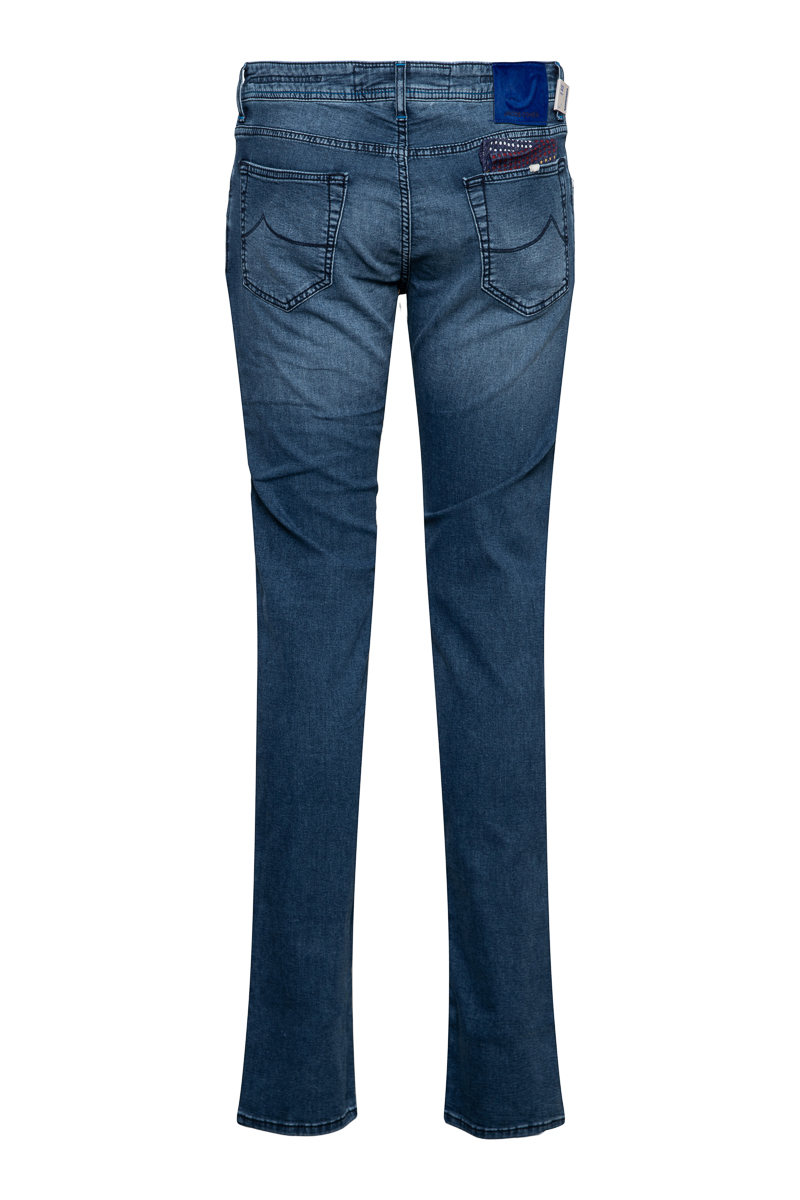 Jacob Cohen Jeans Model J622 Slim Katoen Stretch J Foto 2