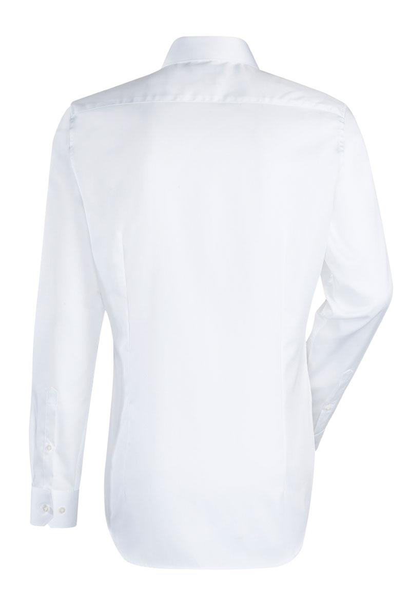 Jacques Britt Overhemd 100% Katoen Slim Fit Wit Foto 2