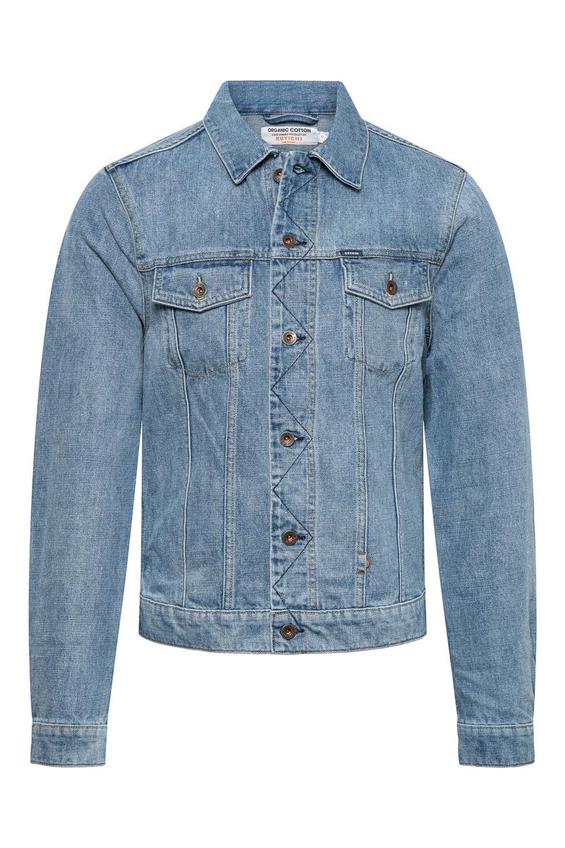 kUYICHI Bourne Jacket  Vintage Blue Foto 1
