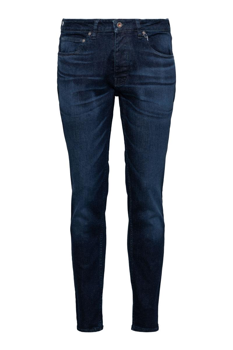 Kuyichi Jamie Worn in Blue Slim fit Jeans Stretch Foto 1
