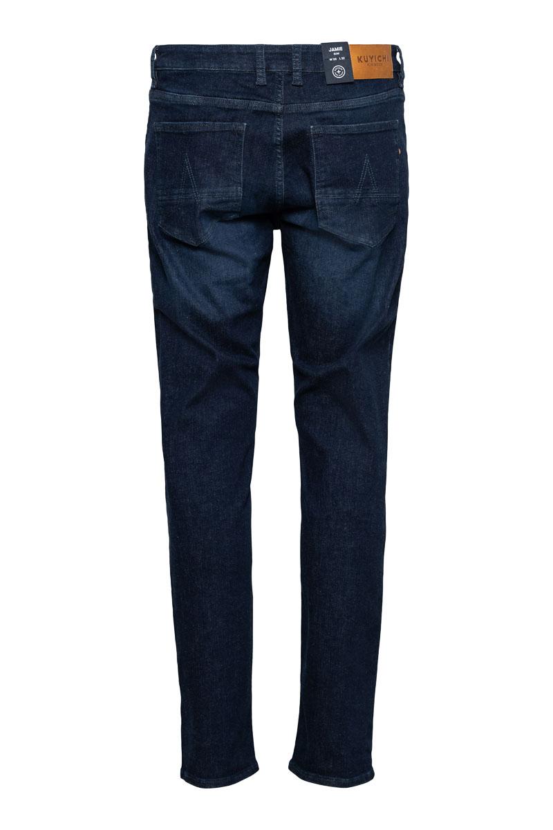 Kuyichi Jamie Worn in Blue Slim fit Jeans Stretch Foto 2