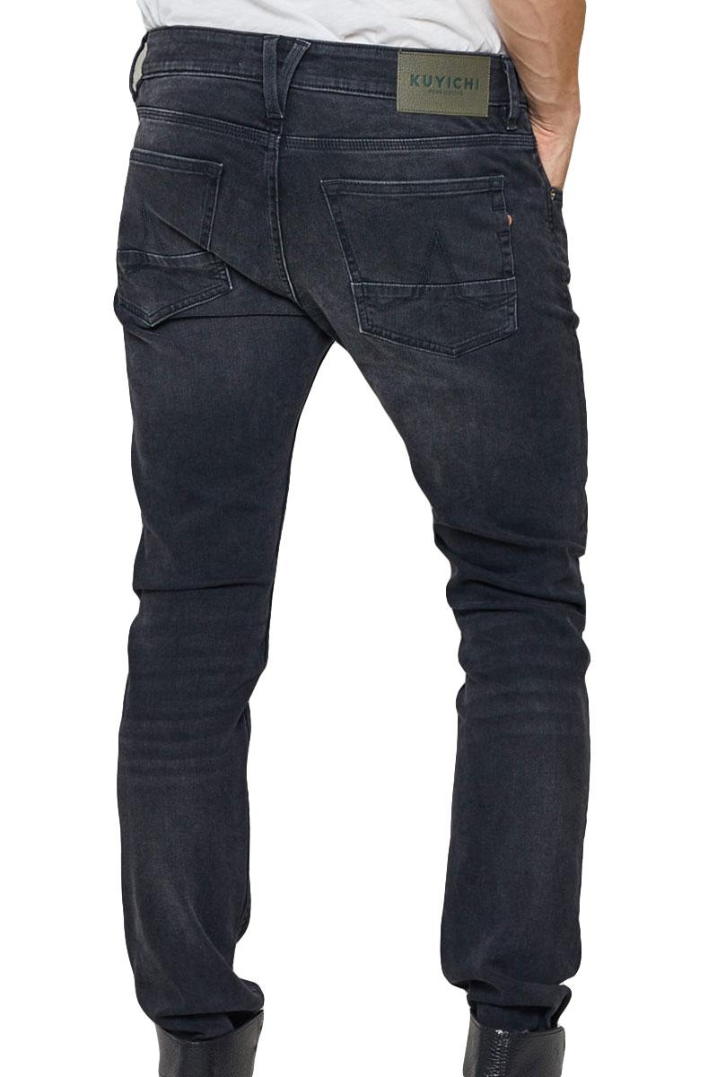 Kuyichi Jeans Kale Black Used Skinny Fit Foto 2