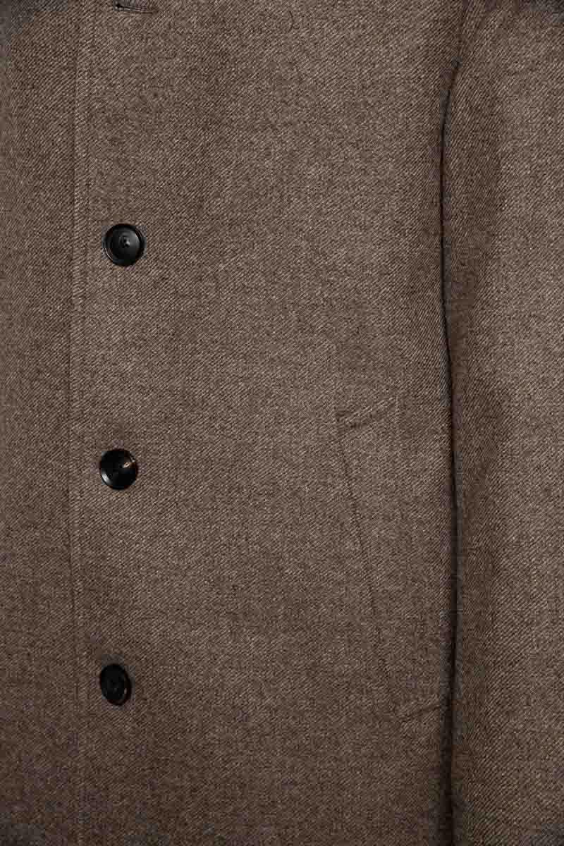 La Torre Coat Marco 97% Wol 3% Cashmere Foto 3